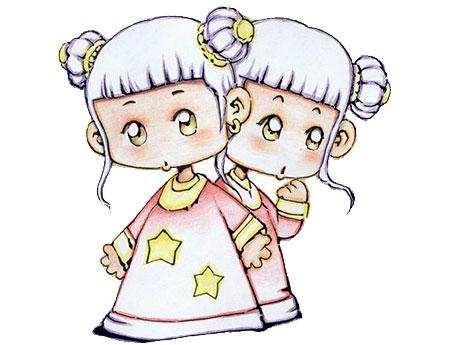 双子座与12星座的配对指数