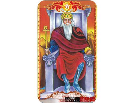 塔罗牌皇帝的牌面解释