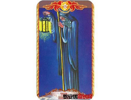 塔罗牌隐士的牌面解释