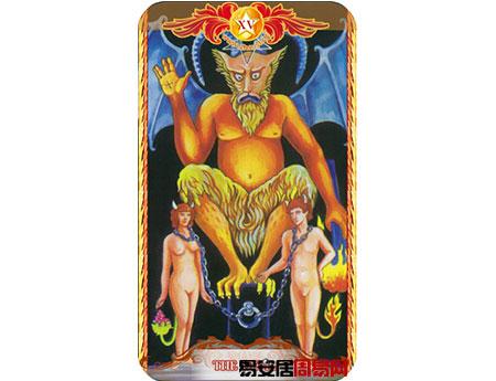塔罗牌魔鬼的牌面解释
