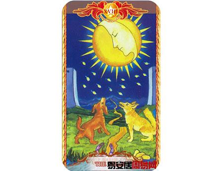塔罗牌月亮的牌面解释