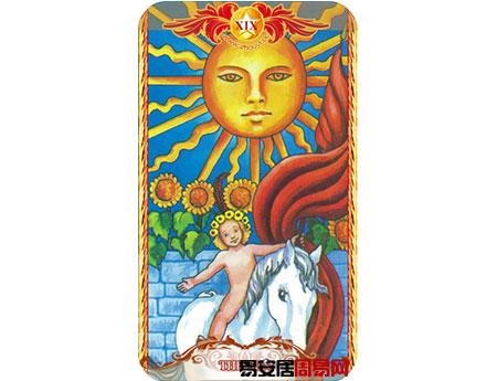 塔罗牌太阳的牌面解释