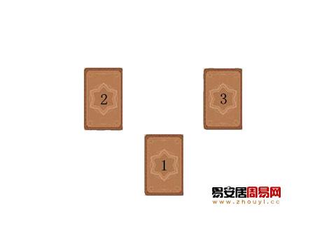 塔罗牌占卜之圣三角占卜法