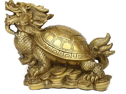 助事业的吉祥物—龙龟