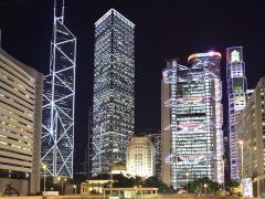 香港中银大厦风水解析