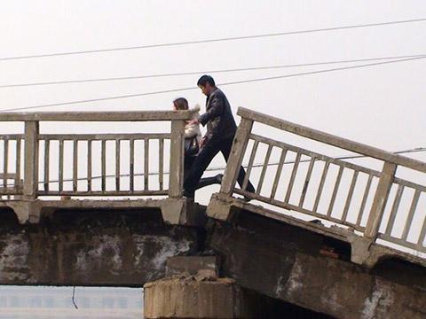 梦到桥塌了