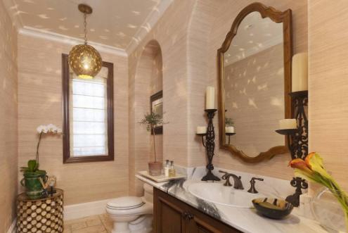 卫生间镜子摆放位置,家中卫生间镜子怎么摆放好